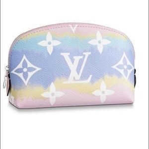 Louis Vuitton Escale Cosmetic Pouch Pink